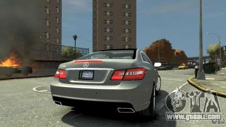 Mercedes-Benz E 500 Coupe V2 for GTA 4 wheels