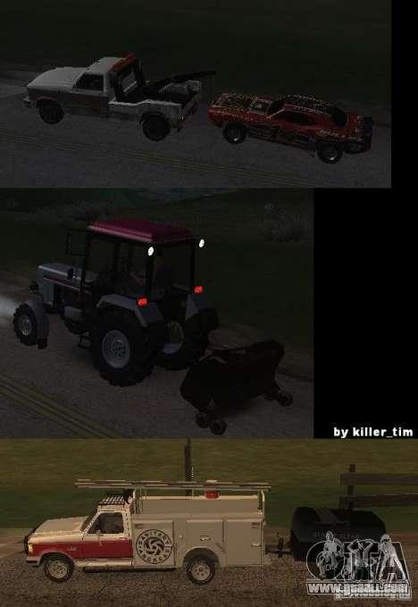 Trucking v2.0 for GTA San Andreas