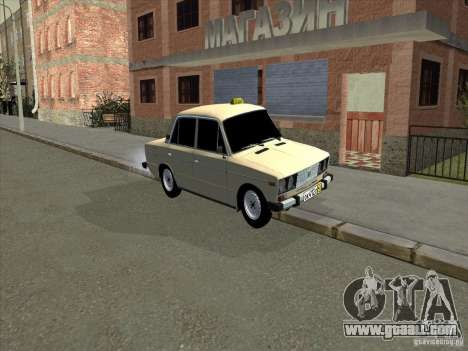 VAZ 2106 Taxi for GTA San Andreas left view