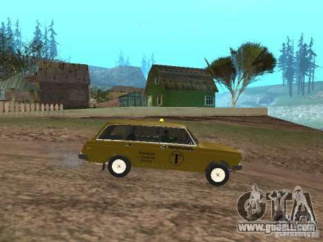 VAZ 2104 Taxi for GTA San Andreas left view