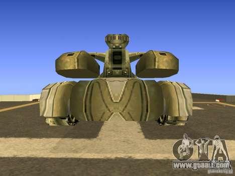 Star Wars Tank v1 for GTA San Andreas right view