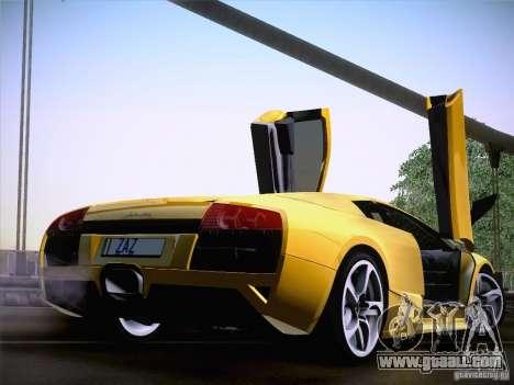 Lamborghini Murcielago LP640 for GTA San Andreas right view