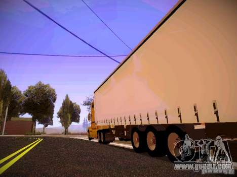 Mack Vision for GTA San Andreas back left view
