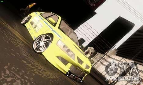 Mitsubishi Lancer Evolution 8 for GTA San Andreas