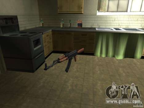 Pak domestic weapons for GTA San Andreas