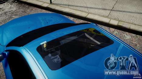 BMW M5 E60 2009 for GTA 4 upper view