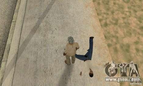 Collision of GTA 4 for GTA San Andreas forth screenshot
