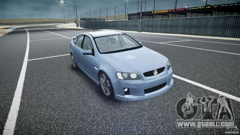 Holden Commodore SS (CIVIL) for GTA 4 back view