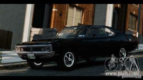 Dodge Demon 1971 for GTA 4 back left view