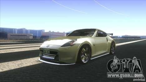 Nissan 370Z Drift 2009 V1.0 for GTA San Andreas back left view