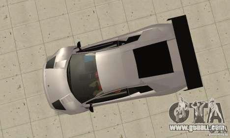 Lamborghini Murcielago R GT for GTA San Andreas right view