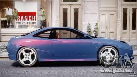 Fiat Coupe 2000 for GTA 4 interior