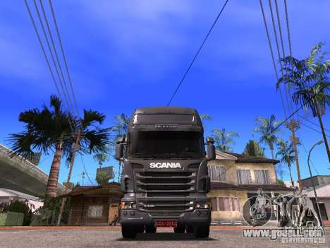 Scania R-440 for GTA San Andreas right view