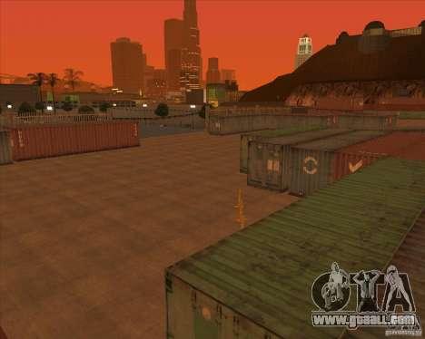 Portland for GTA San Andreas forth screenshot