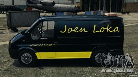 Ford Transit Joen Loka [ELS] for GTA 4 left view