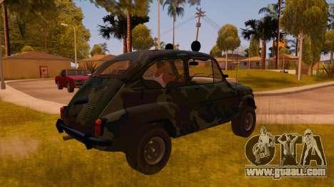 Zastava 750 4x4 Camo for GTA San Andreas right view