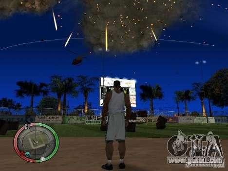 RAIN OF BOXES for GTA San Andreas forth screenshot