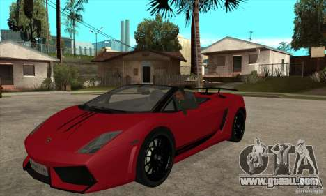 Lamborghini LP570-4 Performante 2011 for GTA San Andreas