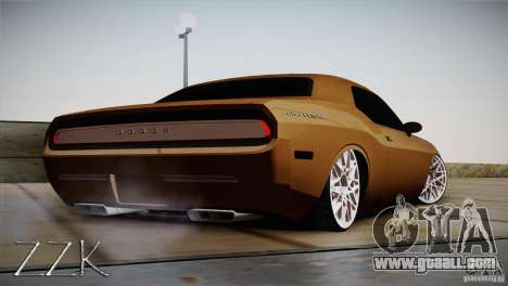 Dodge Challenger Socado Com Rotiform FIXA for GTA San Andreas right view