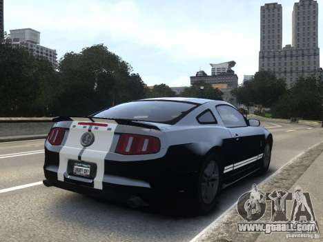 Ford Shelby GT500 2010 WIP for GTA 4
