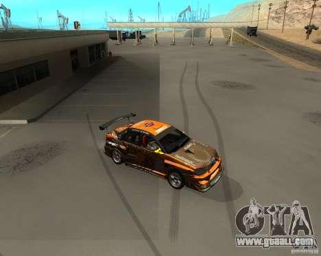Subaru Impreza WRX Team Orange DRIFT SA-MP for GTA San Andreas left view