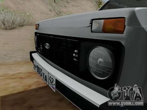 VAZ 2121 Niva for GTA San Andreas back left view