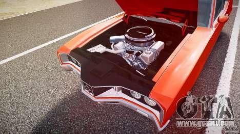 Mercury Cyclone Spoiler 1970 for GTA 4 interior