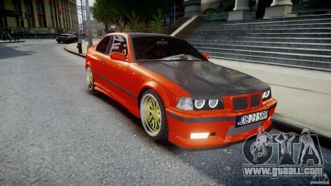 BMW E36 Alpina B8 for GTA 4 inner view