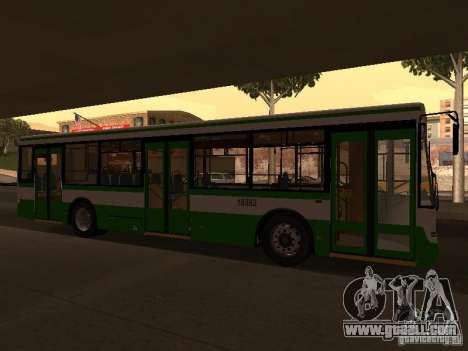 LIAZ 5292.20 for GTA San Andreas left view