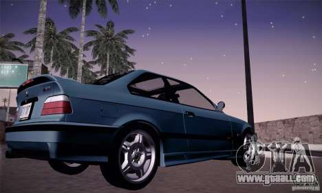 BMW E36 M3 Coupe - Stock for GTA San Andreas right view