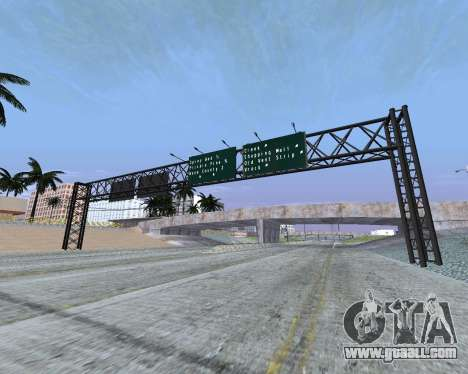 Road signs v1.2 for GTA San Andreas