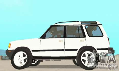 Land Rover Discovery 2 for GTA San Andreas back left view