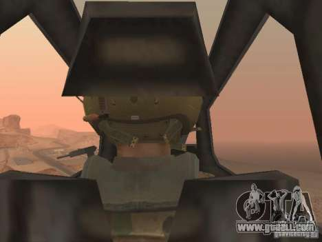 MI 28 Havok for GTA San Andreas interior