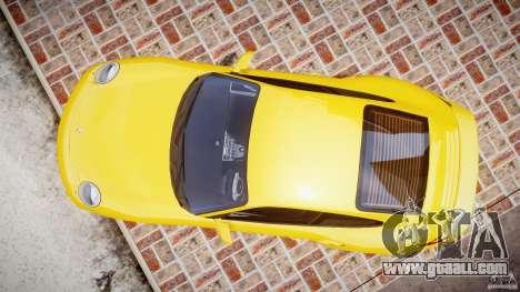 Porsche 911 (997) Turbo v1.0 for GTA 4 right view