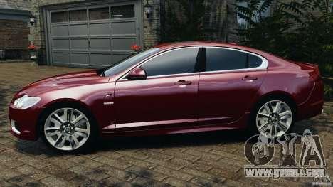 Jaguar XFR 2010 v2.0 for GTA 4 left view