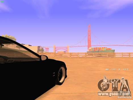 BMW M5 E39 Stanced for GTA San Andreas side view