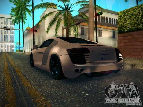Audi R8 V10 for GTA San Andreas right view