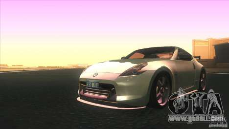 Nissan 370Z Drift 2009 V1.0 for GTA San Andreas