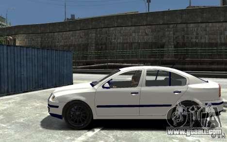 Skoda Octavia II 2005 for GTA 4 left view