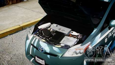 Toyota Prius 2011 PHEV Concept for GTA 4 right view
