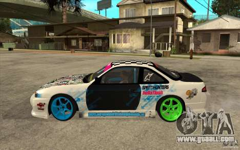 Nissan Silvia S14 Drift Bomb for GTA San Andreas left view