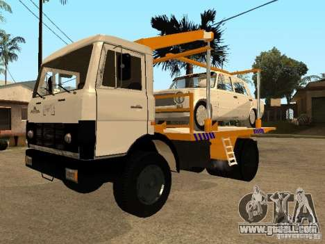 MAZ 54323 TOW TRUCK for GTA San Andreas