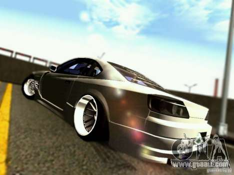 Nissan 150SX Drift for GTA San Andreas right view