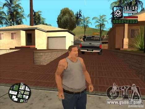White Cj for GTA San Andreas forth screenshot