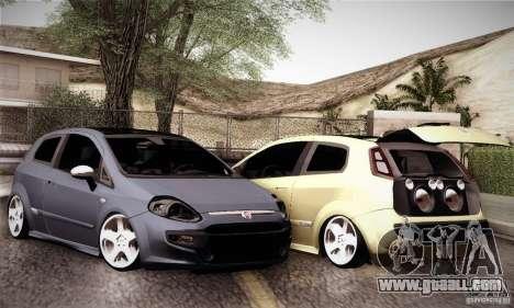 Fiat Punto Evo 2010 Edit for GTA San Andreas side view
