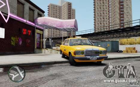 Mercedes-Benz 230 E Taxi for GTA 4