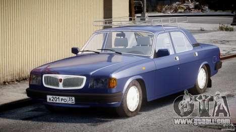 GAZ 3110 Volga for GTA 4 back view