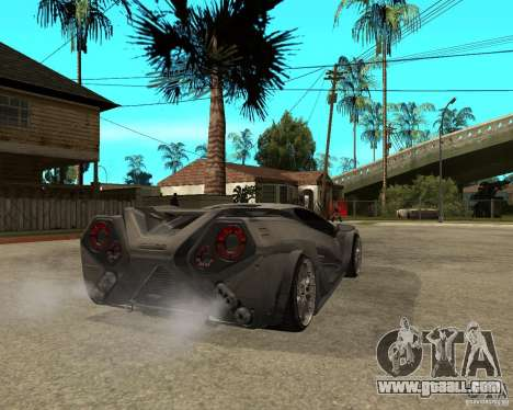 Nemixis for GTA San Andreas back left view