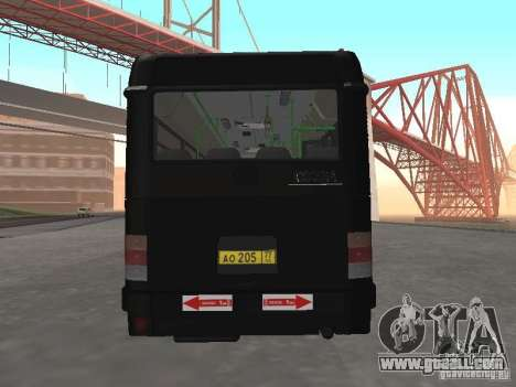 Buses 6222 for GTA San Andreas right view