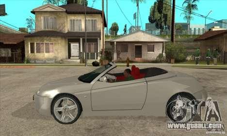 Alfa Romeo Spyder for GTA San Andreas left view